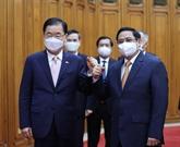 Le Premier ministre vietnamien reçoit le chef de la diplomatie sud-coréenne