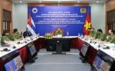Cuba prêt à intensifier la coopération avec le ministère vietnamien de la Police