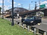 Six blessés dans l'effondrement d'un pont piétonnier à Washington D.C.