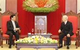 La visite du secrétaire général et président lao devra approfondir les liens bilatéraux