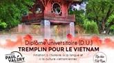 L'Universite Paul-Valery de Montpellier et le tremplin pour le Vietnam