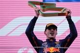 F1 : Verstappen s'envole sur le Red Bull Ring
