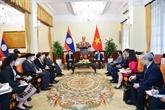 Vietnam - Laos : rencontre entre les deux chefs de la diplomatie