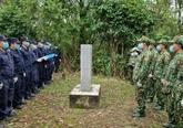 Patrouille conjointe à la frontière Vietnam - Chine