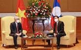 Pour renforcer la coopération entre le FPV et le Front laotien pour la construction nationale