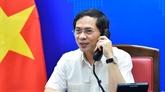 Conversation téléphonique entre les deux ministres des AE