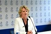 Brigitte Henriques, première femme à prendre les rênes de l'olympisme français