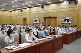 Application de la Résolution du Congrès du Parti au sein des organes du ressort central