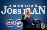 Biden défend dans un État-clé sa volonté de créer des emplois