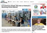 Grand potentiel de croissance du commerce électronique au Vietnam