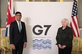 L'impôt minimum mondial, priorité du G7 Finances à Londres