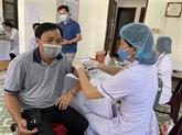 Étude sur la vaccination anti-COVID-19 pour les experts étrangers au Vietnam