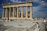 En Grèce, la rénovation de l'Acropole fait polémique