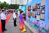 Une exposition sur le Président Hô Chi Minh dans lamégapole du Sud