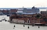 Venise rouvre sa lagune aux croisières dans une ambiance polémique