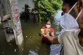 Sri Lanka : 16 morts dans des inondations et glissements de terrain