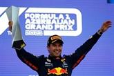 F1 : statu quo entre Verstappen et Hamilton après un GP d'Azerbaïdjan dingue