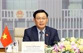 Le président de l'AN du Vietnam s'entretient avec son homologue australien