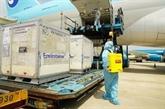 Priorité aux vols transportant des vaccins contre le COVID-19