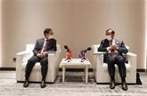 Les ministres des Affaires étrangères satisfaits des liens Vietnam - Cambodge