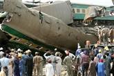 Pakistan : au moins 43 morts dans un double accident ferroviaire