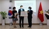 Le Vietnam honore l'ancien ambassadeur sud-coréen Lee Hyuk