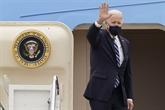 Biden s'envole pour son premier voyage à l'étranger