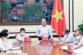 Le président souligne l'édification de l'État de droit socialiste du Vietnam