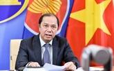 L'ASEAN et la Chine s'engagent à faire face aux problèmes régionaux urgents