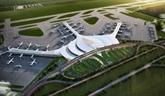 Construction du terminal et de la piste d'atterrissage de l'aéroport de Long Thành au début de 2022