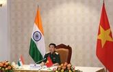 Vietnam - Inde : conversation en ligne entre les ministres de la Défense