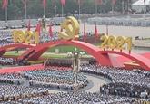 Félicitations pour le centenaire de la fondation du PCC