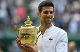 Wimbledon : Djokovic rejoint Federer et Nadal au sommet de la pyramide majeure