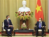 Le président vietnamien reçoit un ministre australien