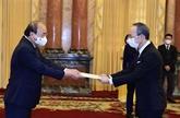 Le Vietnam souhaite resserrer les relations de coopération avec des pays