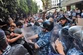 Explosion au port de Beyrouth : heurts entre policiers et manifestants, des blessés