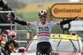 Tour de France : l'Autrichien Konrad s'impose en solitaire dans la 16e étape