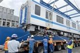 Hô Chi Minh-Ville reçoit deux autres rames pour la ligne de métro N°1