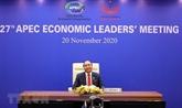 Le Vietnam à l'APEC 2021 : unis pour surmonter la crise et accélérer la reprise