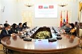 Renforcement de la coopération entre la ville de Saint-Pétersbourg et les localités vietnamiennes