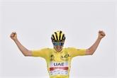 Tour de France : Pogacar gagne au sommet du Portet