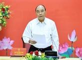 Le Conseil de défense et de sécurité du Vietnam se réunit