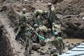 Coulée de boue au Japon : le bilan s'établit à 15 morts, 14 disparus