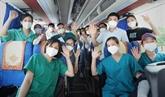 Près de 4.500 agents médicaux accompagnent Hô Chi Minh-Ville