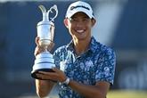 Golf : coup d'essai, coup de maître, pour Collin Morikawa au British Open