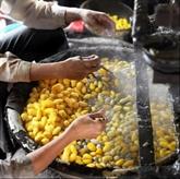 La production de la soie, un ancien métier à Cô Chât