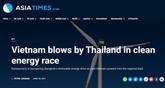 Asiatimes salue les efforts du Vietnam dans la transition vers l'énergie propre