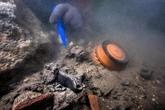 Découverte de vestiges d'une cité antique immergée en Égypte