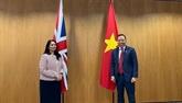 Le Vietnam et le Royaume-Uni renforcent leur coopération dans la sécurité et les affaires intérieures