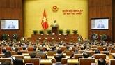 La XVe Assemblée nationale inaugure sa première session